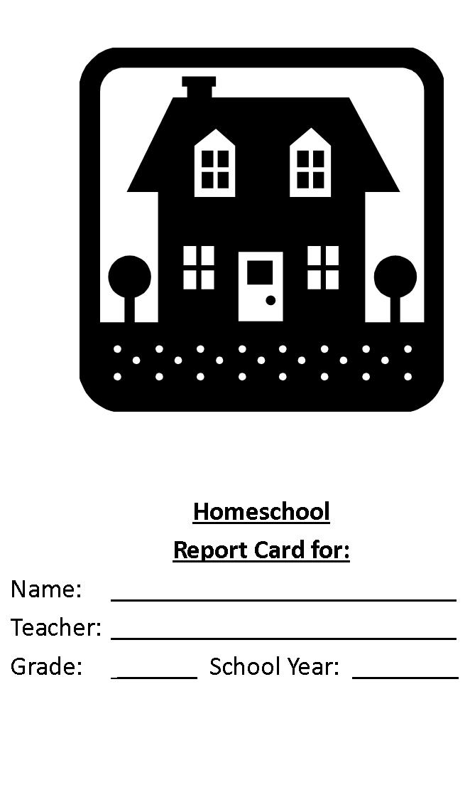 Sample homeschool report card for you.