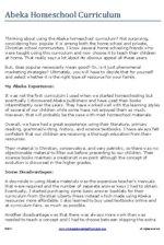 home schooling articles align=left